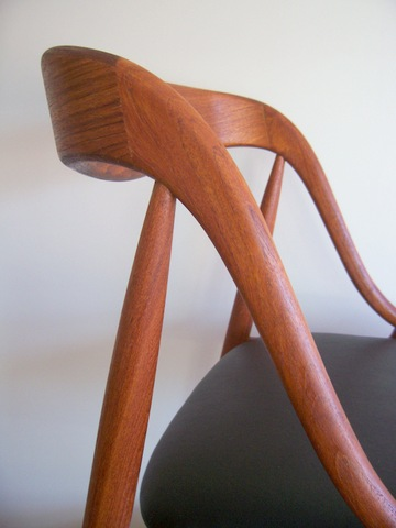 Danish Andersen teak chair
