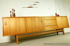 Teak Sideboard by Nils Jonsson for Troeds Bjarnum
