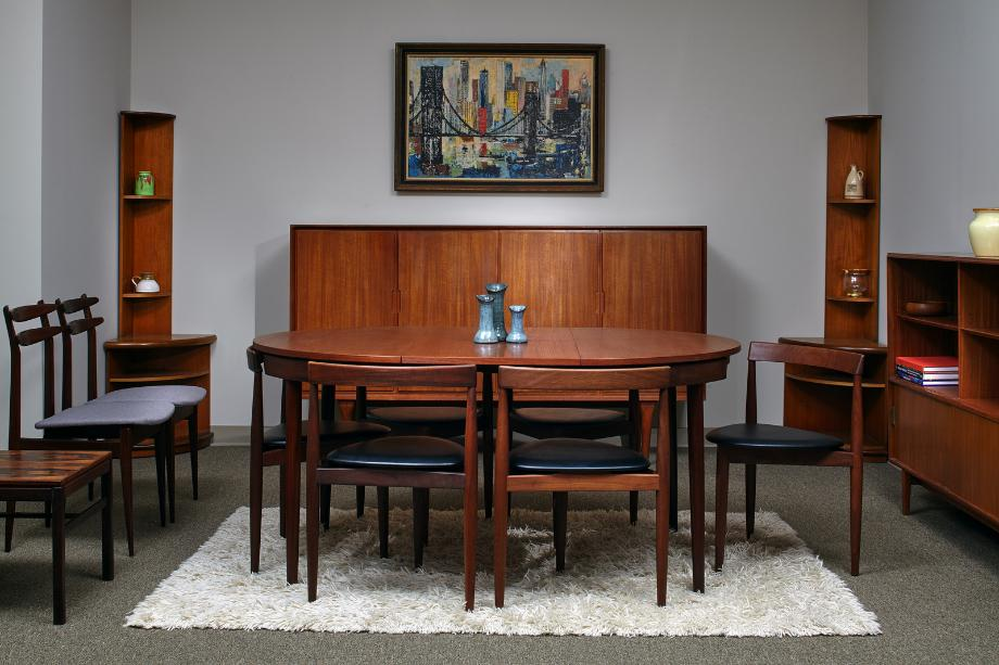 Authentic mid century modern furniture atlanta for Danish modern reproduction