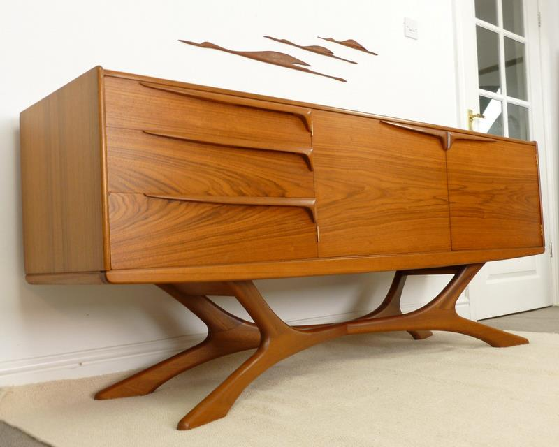 Mid century furniture danish modern teak and rosewood Danish modern furniture