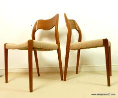 mid century furniture danish modern teak and rosewood