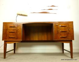 Danish Dual Sided Rosewood Desk