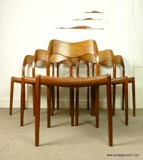 Niels Moller Rosewood Chairs - Model 71