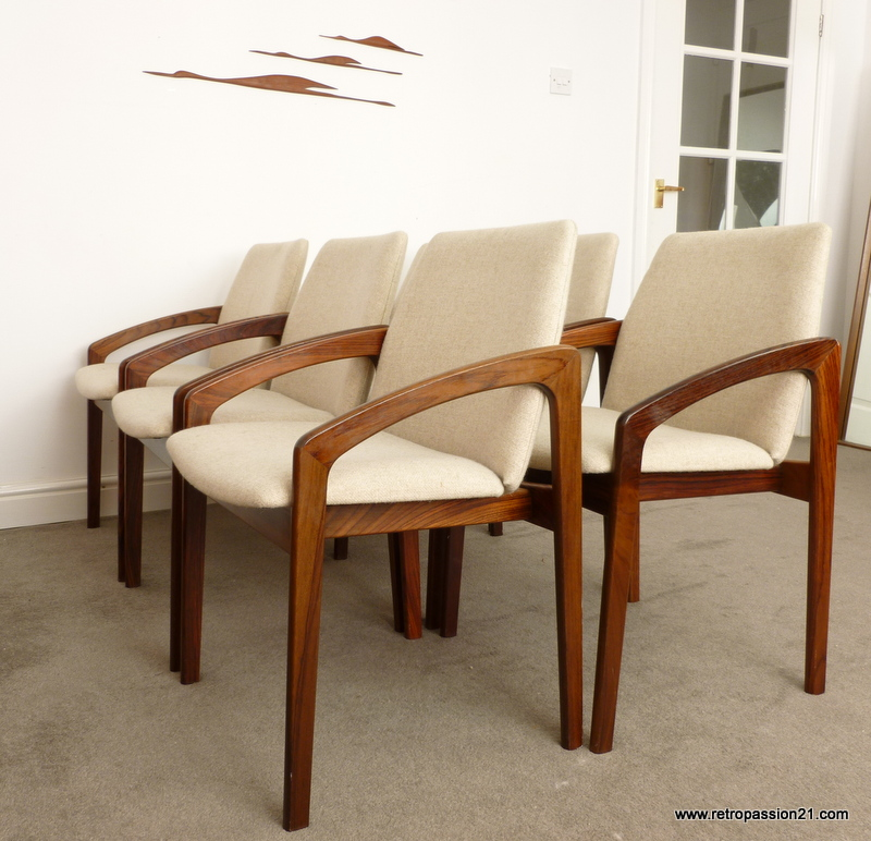 Recently sold  Tapiovaara Pirkka table  chairs  Retropassion21 Mid Century Danish Modern Retro Teak Rosewood Furniture. Rosewood Danish Dining Table And Chairs. Home Design Ideas