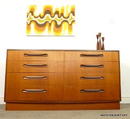 G Plan Fresco chest of drawers